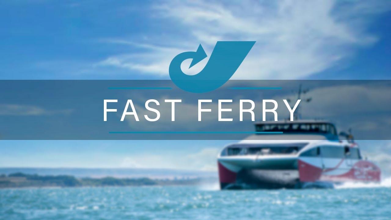 Ferries à grande vitesse et propulsion hydrojet