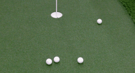 Indoor Putting Green Structure