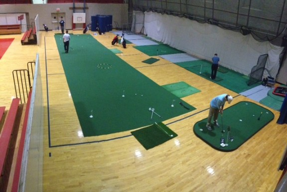 University of Dayton Indoor Golf Facility