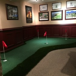 Corner Putting Green