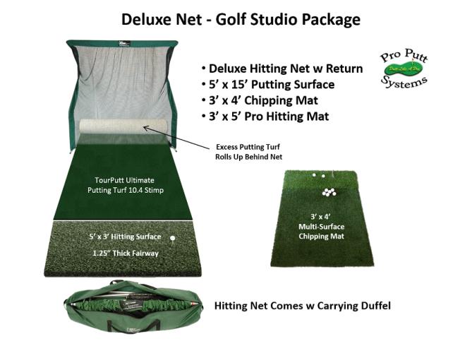 Deluxe Golf Studio Package