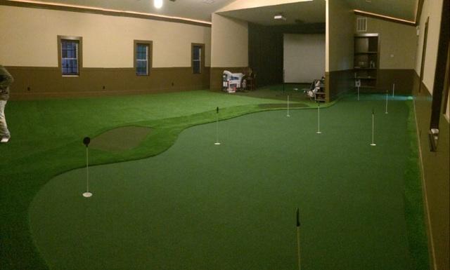 golf room in charlotte