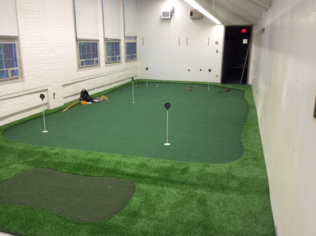 University of Rochester Golf Room