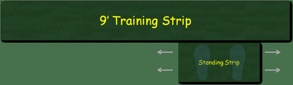 9 foot putting green strip