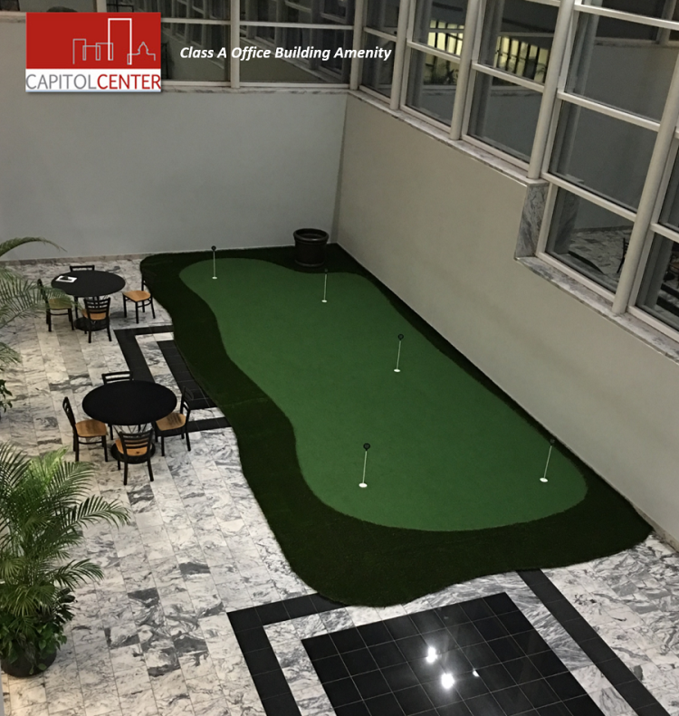 Office Building Putting Green