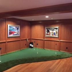 Custom Golf Room
