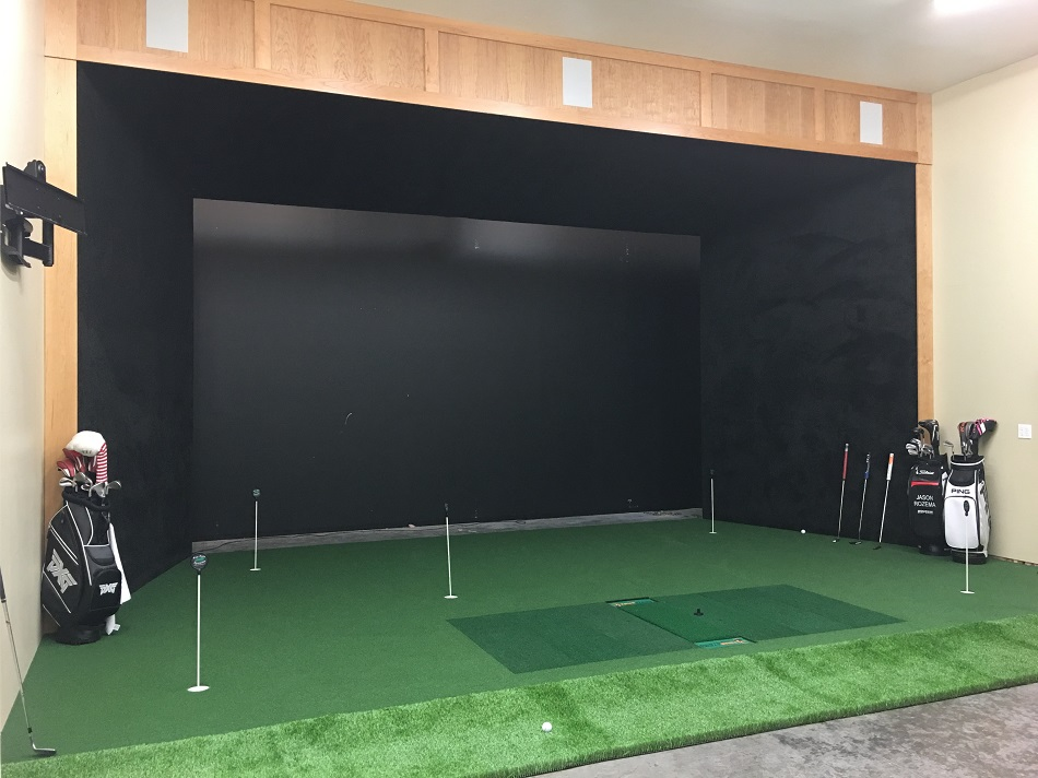 Golf Room Install
