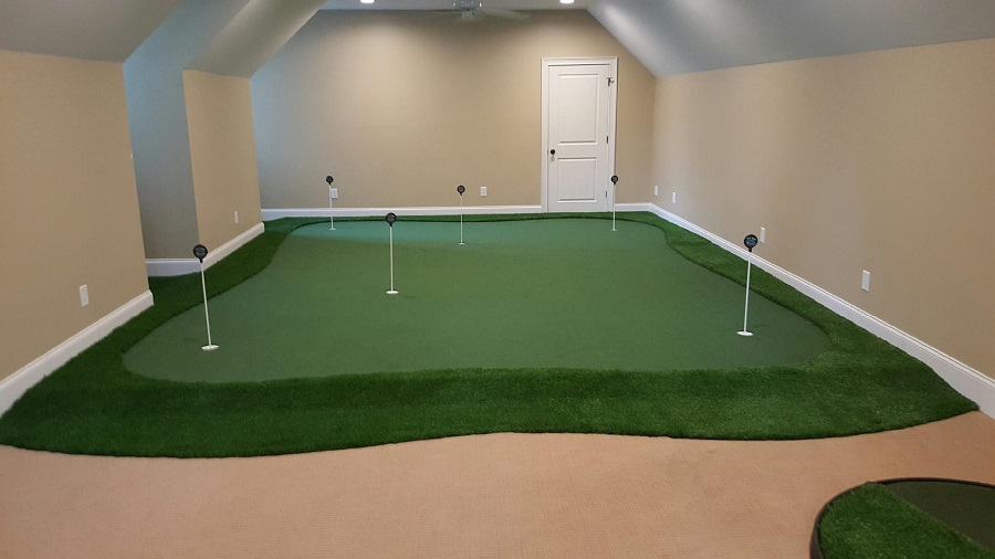 Residential Golf Room