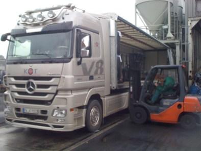 Spezialtransport empfindlicher Maschinen