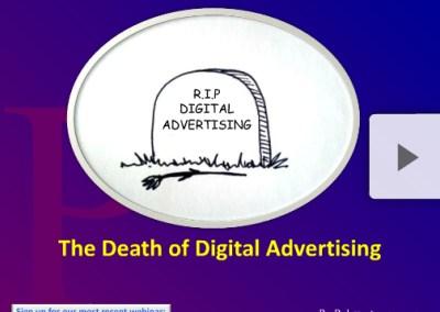Is Digital Advertising Dead?