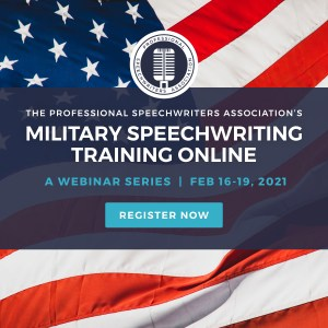 Military Speechwriting Training Online