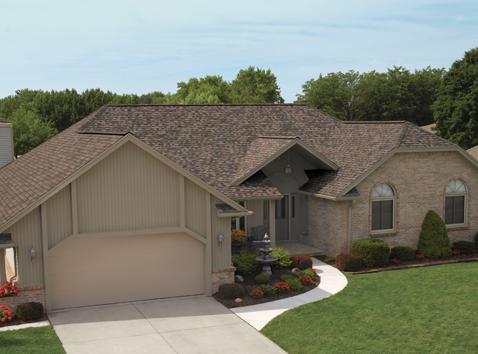 residential roof shingles