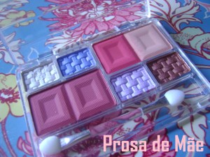 Fenzza make up, make, fenzza, paletta de sombras, blush ponto de luz, SM3D095 EIGHT PALETTE