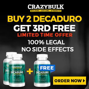 Decaduro Buy 2 Get 3rd Free