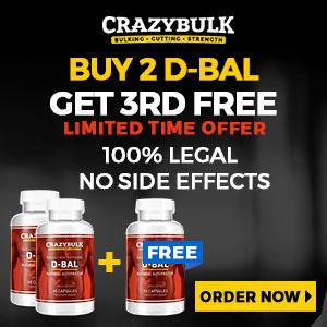 D-Bal Buy 2 Get 3rd Free