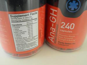 Ana-GH Ingredients