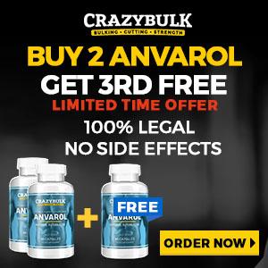 Anvarol Buy 2 Get 3rd FREE