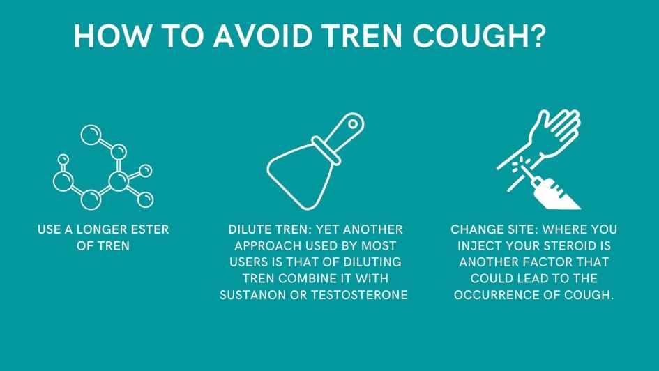 How to avoid tren cough