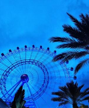 View of the Orlando Eye on International Drive
