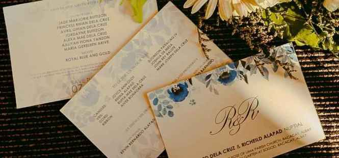 How To Make Wedding Invitations In Four Quick Steps