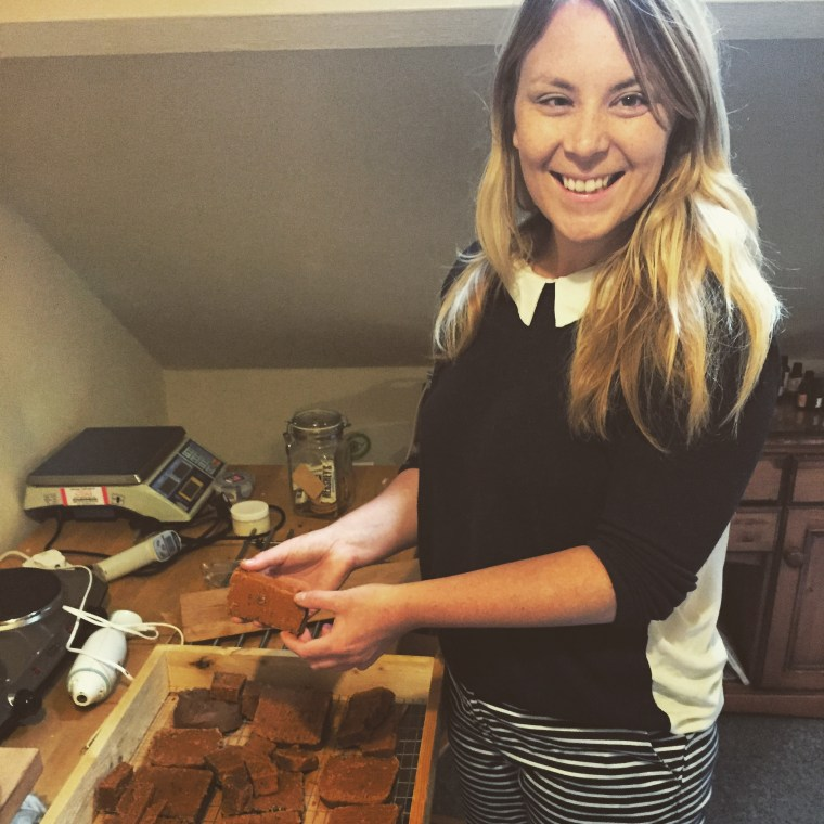 Bumble and Bloom Media visits the Bare Bodycare soap studio North Shields 2015