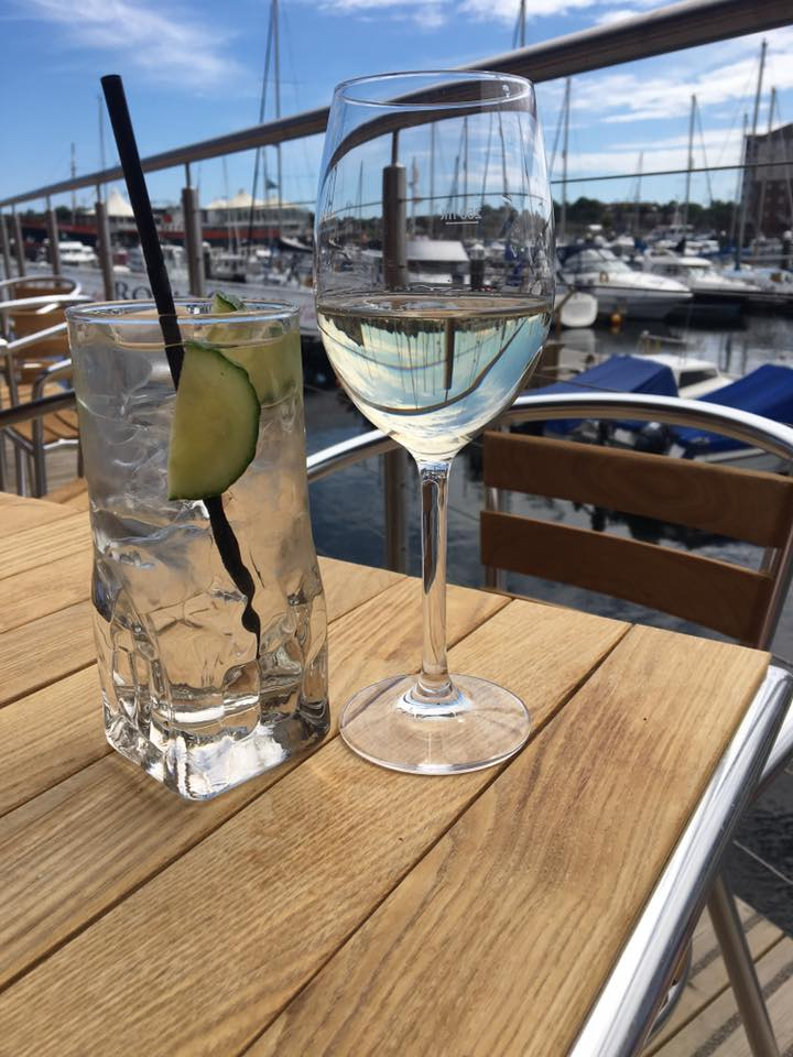 Prosecco and Pie visits The Herb Garden at the Harbour North Shields