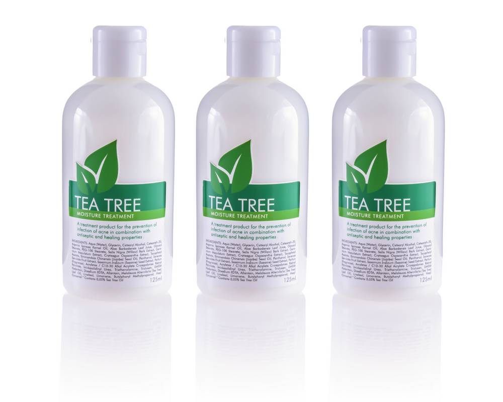 Tea Tree moisture treatment_product photography