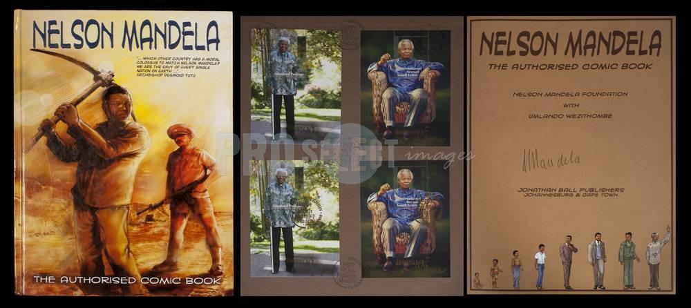 Rejection, criticism and triumph The authorized comic book Nelson Mandela