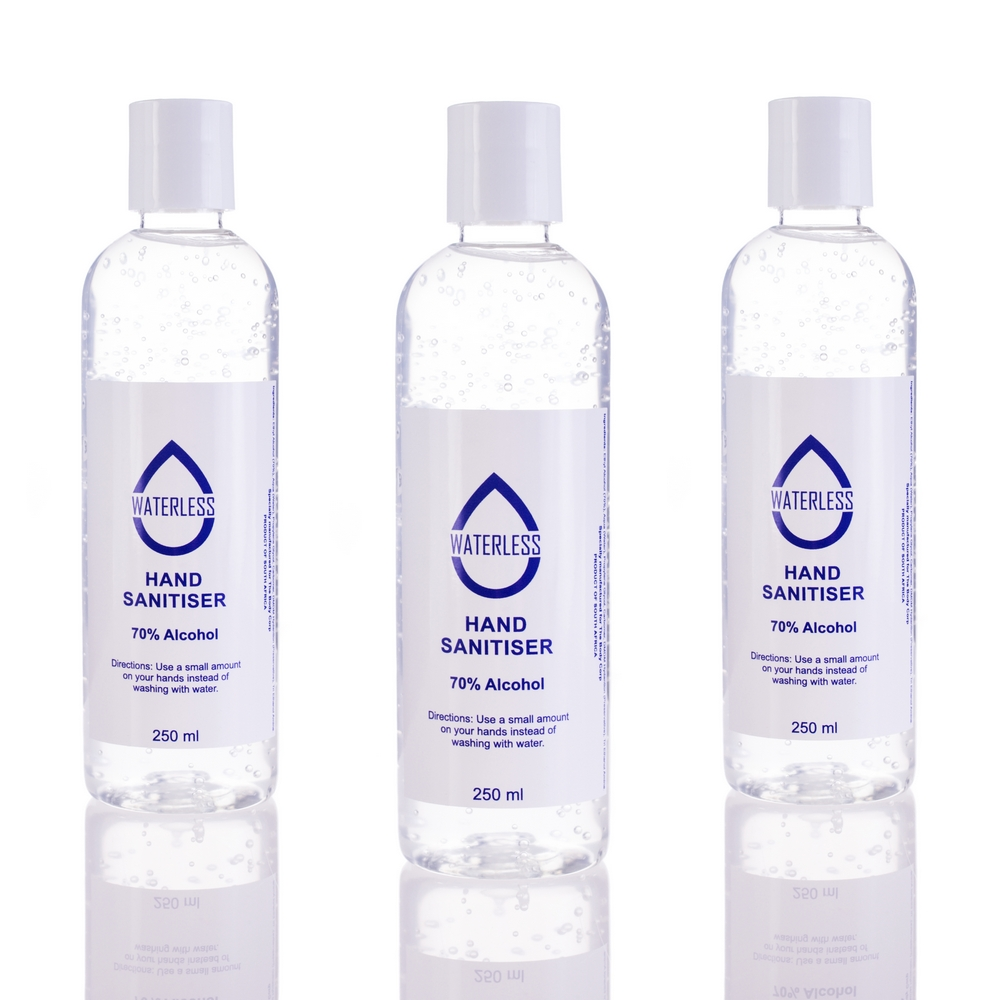 Waterless Hand sanitizers_product photography