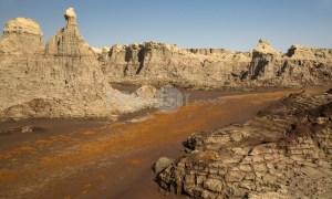 Dallol salt canyon | ProSelect-images