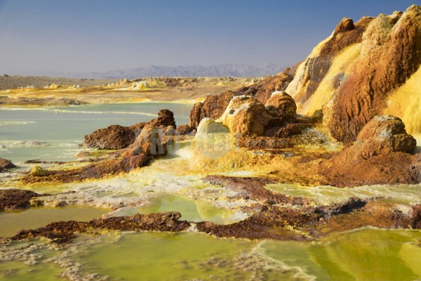 Dallol sulphur hot spring | ProSelect-images