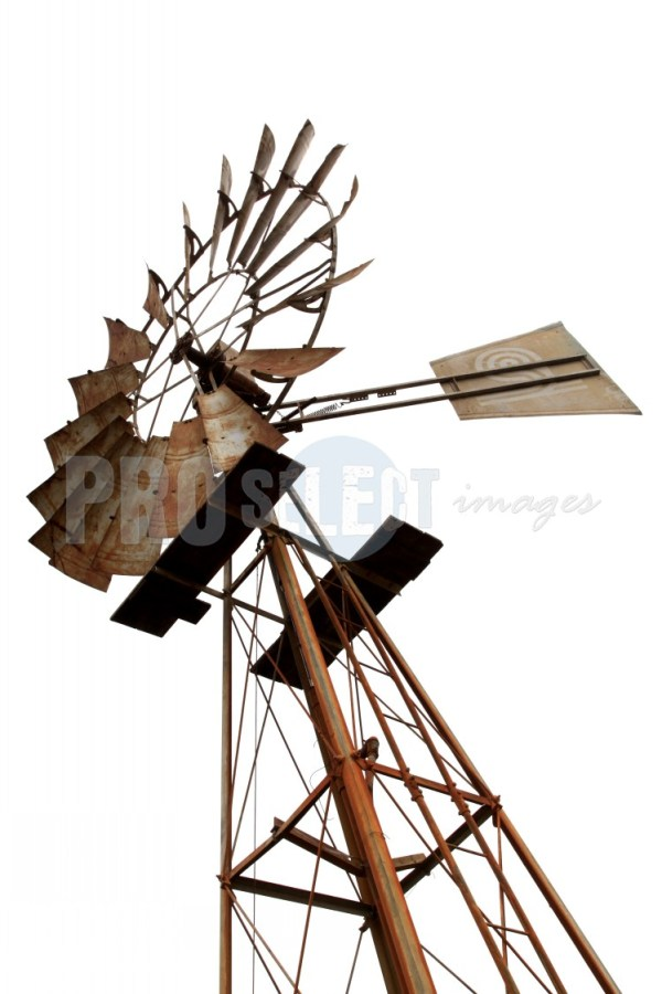 Isolated windpump Malmesbury | ProSelect-images