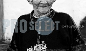 Lady with flowers | ProSelect-images