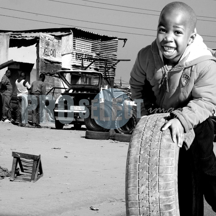 Mamelodi playing child | ProSelect-images