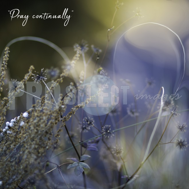 Pray Continually | ProSelect-images