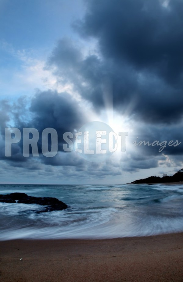 Zinkwazi sea and clouds | ProSelect-images