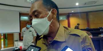 Muljady D. Mario, Kepala Dinas Pertanian Provinsi Gorontalo. (Foto:Aan)
