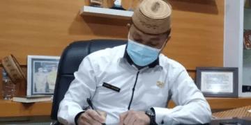 Kepala Badan Keuangan Pemprov Gorontalo Danial Ibrahim