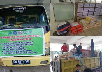 Logistik dari Unipo, yang telah di gabung dengan Bantuan sosial yang berhasil di kumpulkan Icshan Grub. (F : Istimewa).