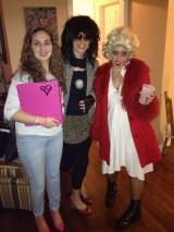 Jessie Spano, Punk Rocker, Courtney Love as Marilyn
