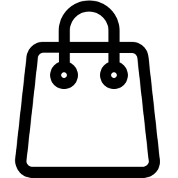 Bag outline icon