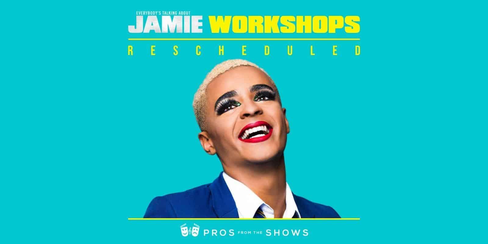 Jamie Workshops Rescheduled Poster