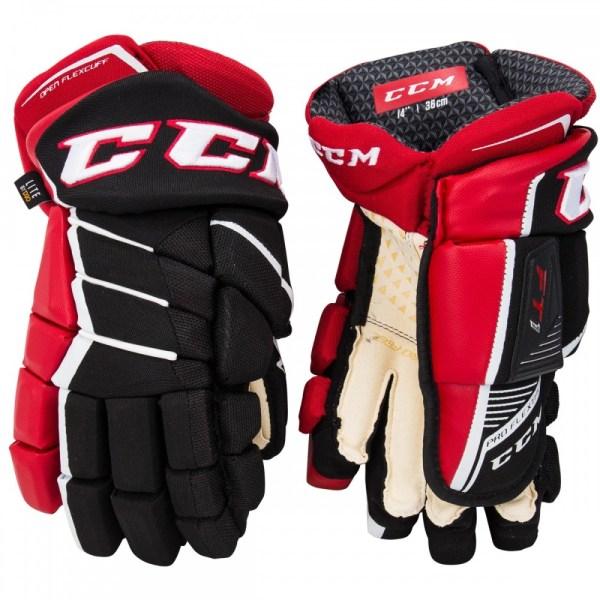 Перчатки хоккейные CCM JETSPEED FT1 SR