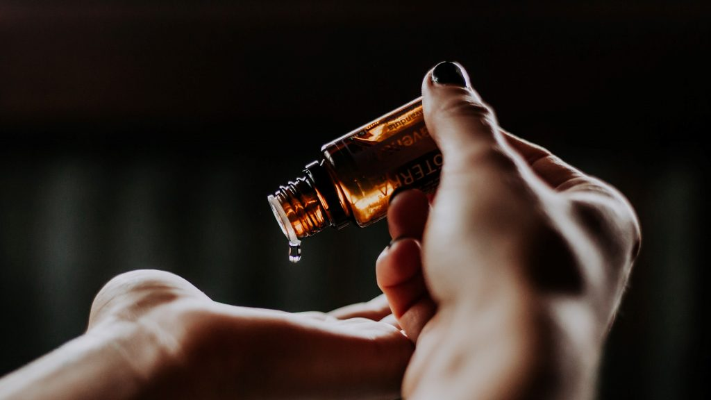 aceite de ozono dispensador en gotas