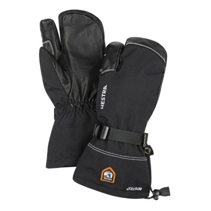 HESTRA Army Leather Gore-Tex 3 Finger Mitten - warm and dry mitten