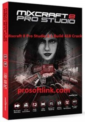 Mixcraft 8 Pro Studio 8.1 Build 418 Crack Full Version Registration Code (2020)