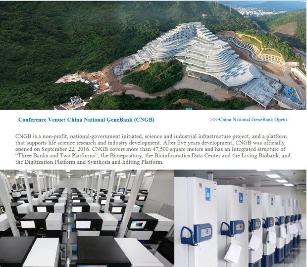 A settembre in Cina ha aperto la China National Genebank, una location del tutto modesta.