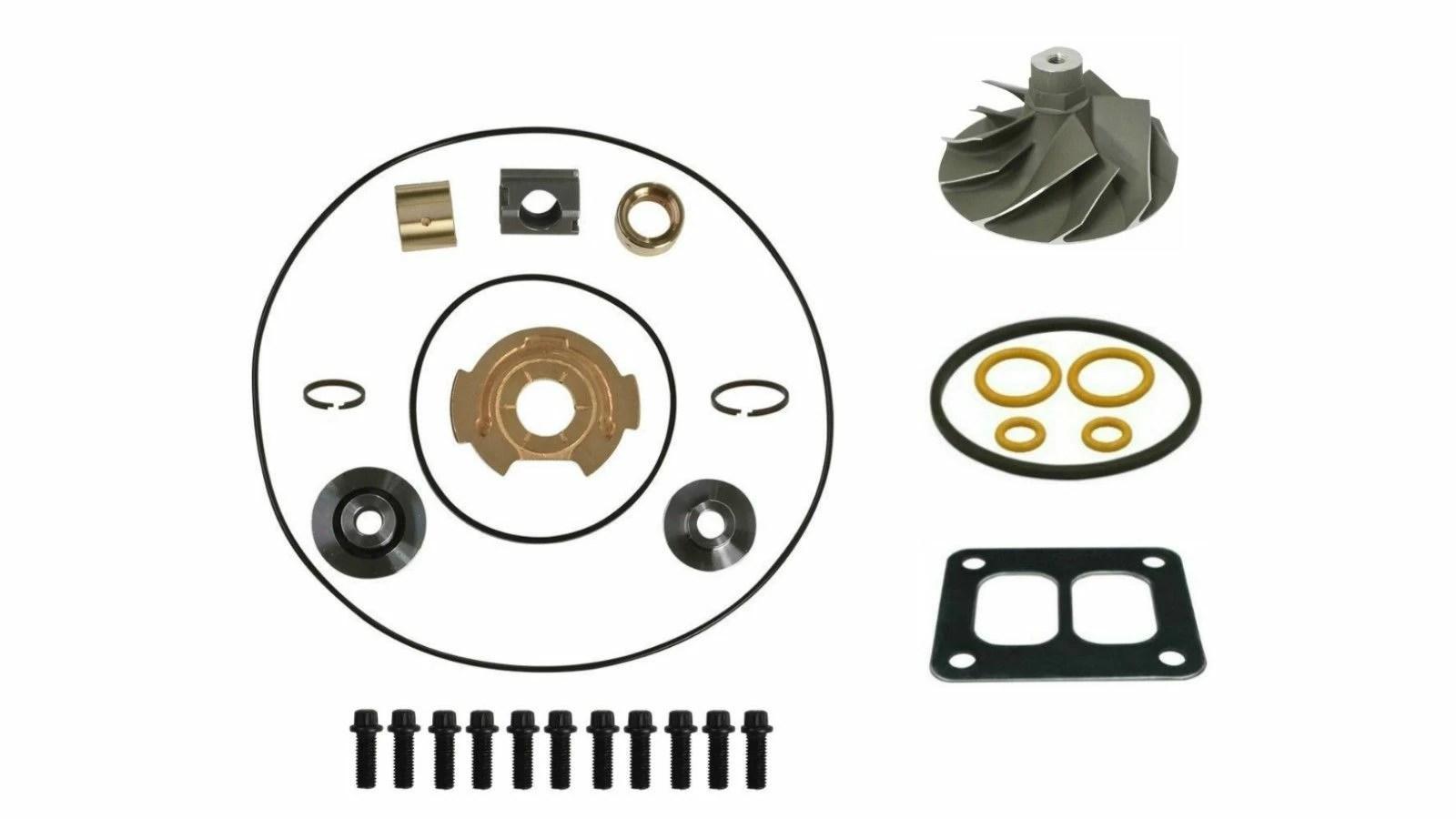 Spoologic Tp38 Turbo Rebuild Kit Cast Wheel For 94 97 7 3l