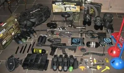 Paintball Gear Image