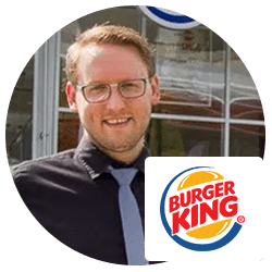 Burger King ringelister bedrift